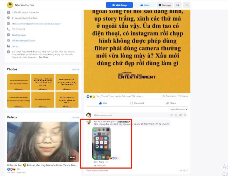 Cách hack follow Facebook comment dao