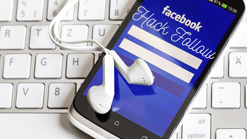 Hack follow Facebook